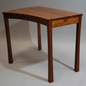 Brown Oak Writing Desk